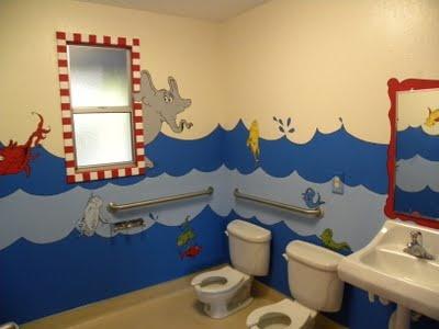 Safras Rooms Dr Seuss Mural Office Decorart Decorbathroom