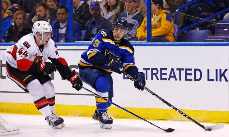 Blues C Robby Fabbri to miss 2017-18 season = The St. Louis Blues received some bad news Wednesday, as it was announced that center Robby Fabbri will miss the entire 2017-18 season after re-injuring his left knee during training camp. Fabbri had.....