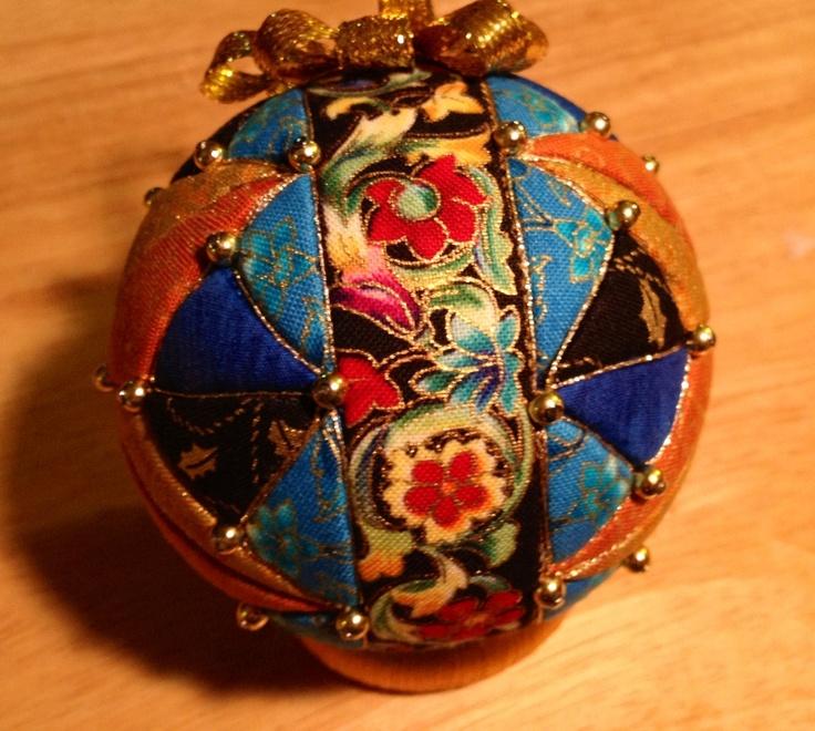 Kimekome patchwork ornament multi-color