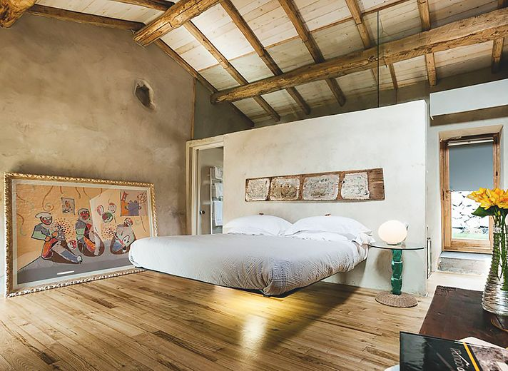 monaci_12 schwebendes Bett Hotel Sizilien Bed