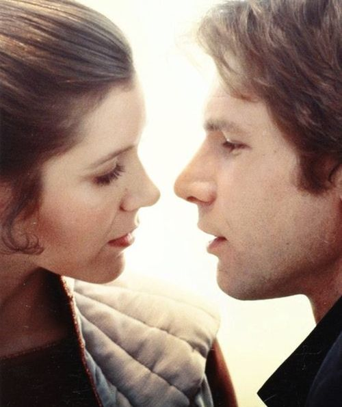 """""""I love you."""" """"I know"""". This will always be us even though you're a Trekkie over a Star Wards nerd."""