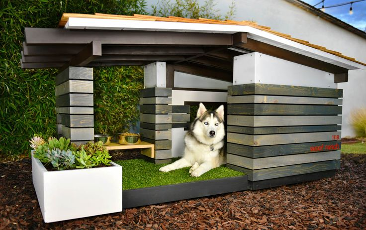 Pijuan Design Workshop offers hand-crafted, midcentury modern dog houses. Beautifully designed and perfectly functional, your puppy can now have his own dream home. Palm Springs.