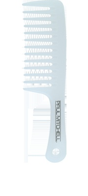 Detangler Comb  Time to Detangle    Easily detangles wet or dry hair.  Provides antibacterial protection.  Use as a comb-through for treatments.