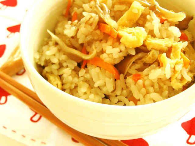 ✿まいたけの炊き込みご飯♡麺つゆ簡単✿の画像