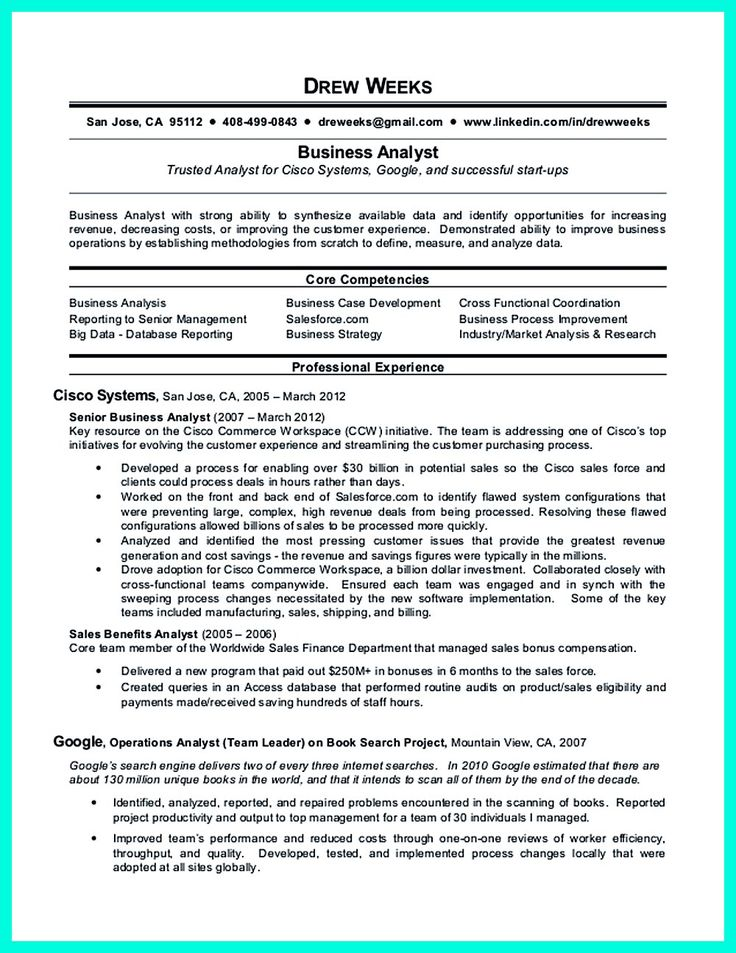 2695 best Resume Sample Template And Format images on Pinterest - management and program analyst resume