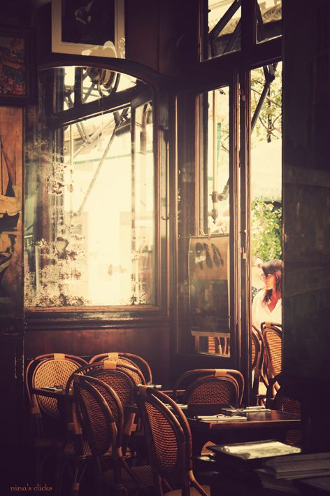 secretsecretboudoir:    this looks just like a little french cafe i frequent…