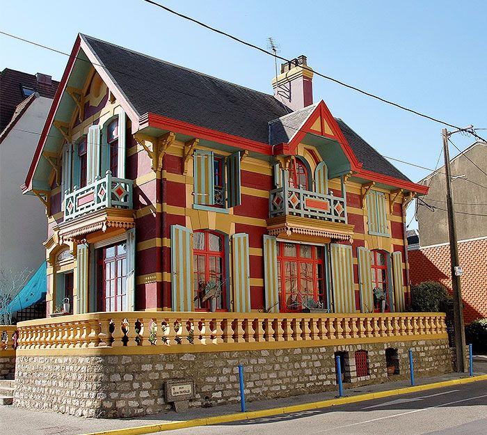 Publique os edifícios mais coloridos do mundo   – ideal of living in art (architecture)