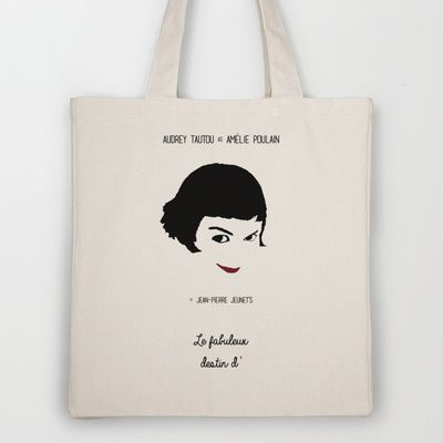 Amélie Tote Bag by OurbrokenHouse - $18.00