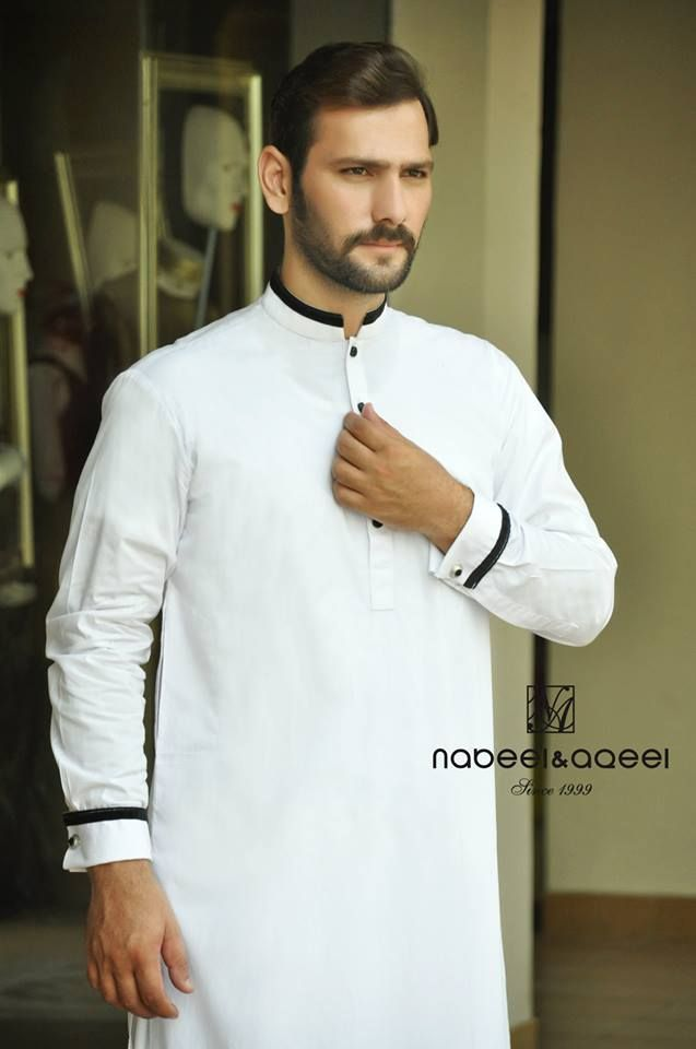 Nabeel & Aqeel Kurta Shalwar Wear Dresses 2014 for Men