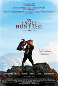 """My review of """"The Eagle Huntress""""  http://cwatlanta.cbslocal.com/2016/12/02/the-eagle-huntress-movie-review/"""