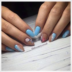 75 best marine nails images on pinterest nail art nail art accurate nails blue nail art ideas of blue nails marine nails oval nails prinsesfo Gallery