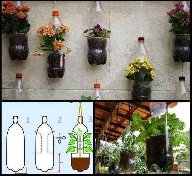 Tutorial de Artesanías: Reciclando botellas plásticas
