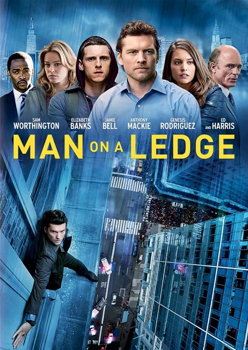 MAN ON A LEDGE (2012): As a police psychologist works to talk down an ex-con who is threatening to jump from a Manhattan hotel rooftop, the biggest diamond heist ever committed is in motion.