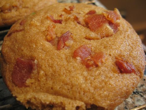 Maple Bacon Chocolate Chip Cookies | Wine and dine | Pinterest
