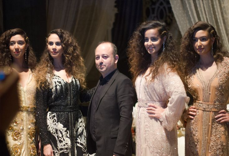 Our models expertly showcase beautiful example of traditional Moroccan dress in Culinary Week's opening Caftan Fashion Show #RoyalMansour #Caftan #Morocco #MoroccanDress #Fashion #Intricate #Design #Clothes #Beauty