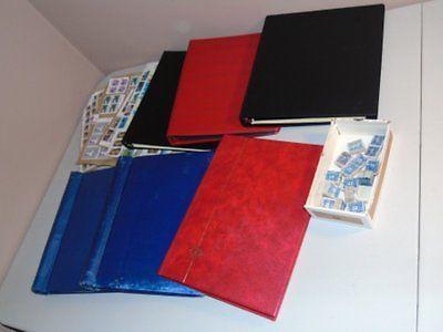 Stamp Pickers Canada Giant Box Lot Carton Full 6 x Albums & Bundles MNH VFU