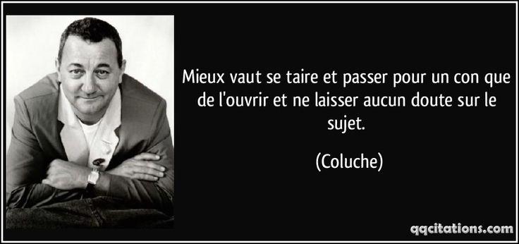 #Coluche