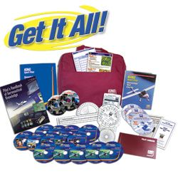 Sport Pilot (Airplane) Get It All Kit - DVD for Windows - Includes Knowledge Test Prep & Checkride Prep (Oral & Flight)  - Plus 11 additional flight skills courses & pilot gear - Guarantee you pass the FAA Knowledge Test & Checkride plus save money on your overall flight training by being better prepared when you step into the cockpit.