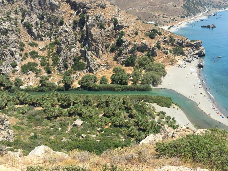 Preveli beach Crete!!!!