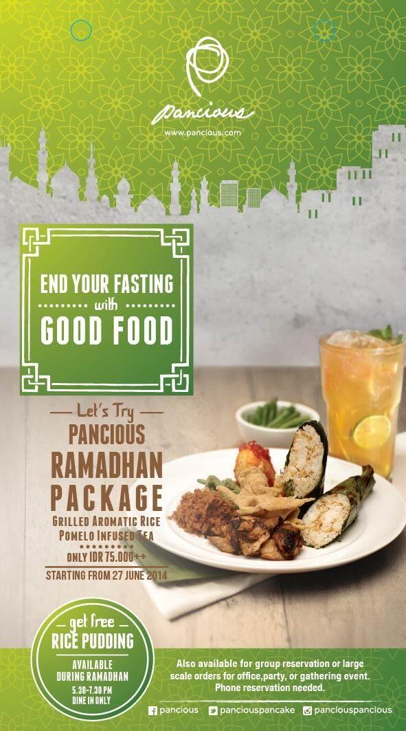 Pancious Pancake House: Promo Ramadhan