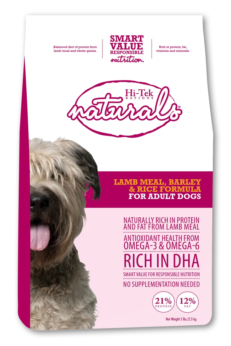Lamb Meal, Rice and Barley formula for adult dogs