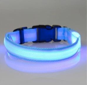 Nighttime Safety LED Dog Collar -->> 50% OFF + FREE SHIPPING! Dog, Dogs, dog stuff, dog collar, dog collars and leashes, dog collars boy, dog collar girly, dog christmas, dog christmas gifts, black friday, cyber monday, black friday dogs, cyber monday dog