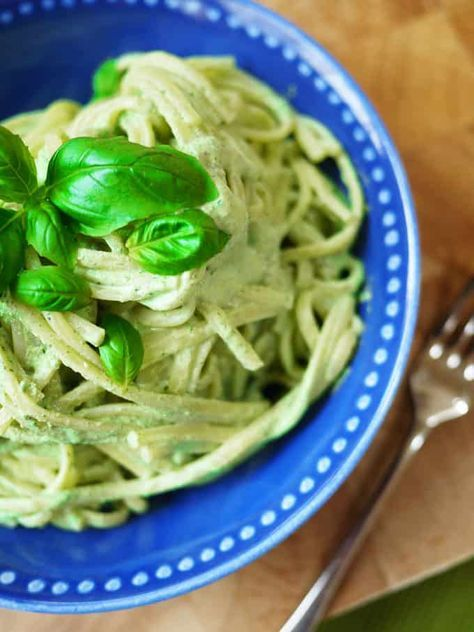 A simple and delicious syn free Slimming World Pesto recipe. The perfect pasta sauce, whizzed up in 2 minutes flat using SW friendly fresh herbs and Quark. Thissyn free pasta sauce makes the perfect Slimming World Pesto Pasta. It is a fat free pesto recipe that you'll come back to time and time again. Add this to your favourite recipes with Quark. via @tamingtwins