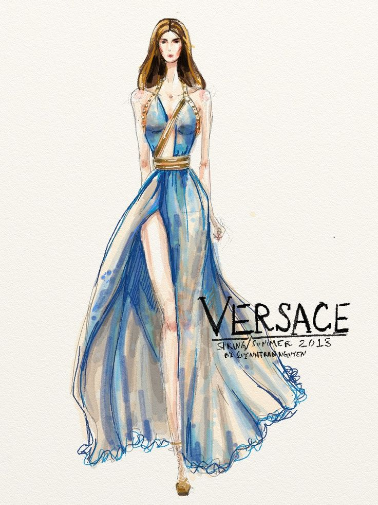296 best Illustration Evening Gown & Wedding gown images ...