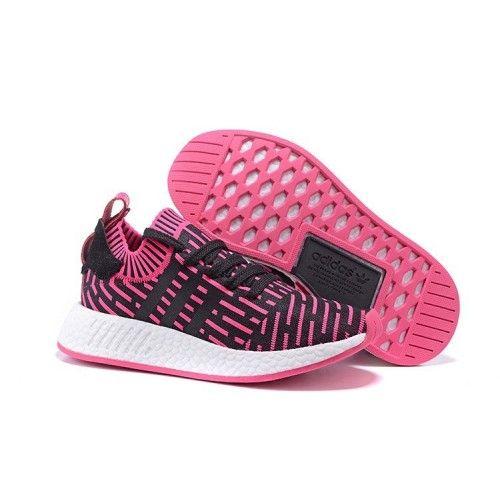 sale retailer 0ab5e a69f3 Adidas NMD R2 Donna Running Scarpe Rosa Nero