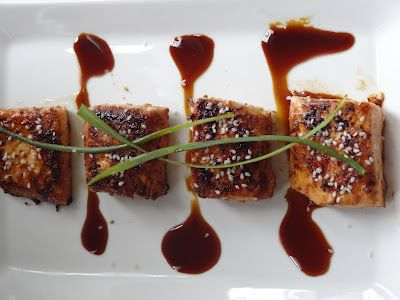 Rice and Coconut: Grilled Spicy Sesame Salmon