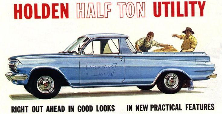 '62 EJ Holden Ute