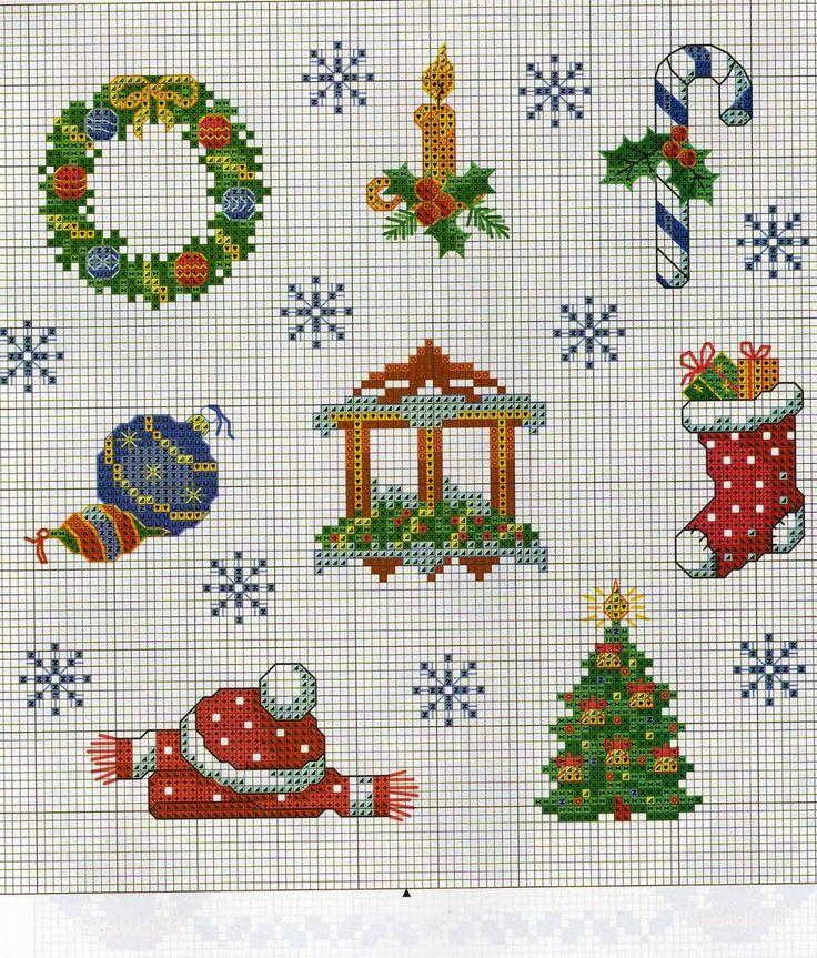 Коробка увлечений: Новогодние вышивки крестиком