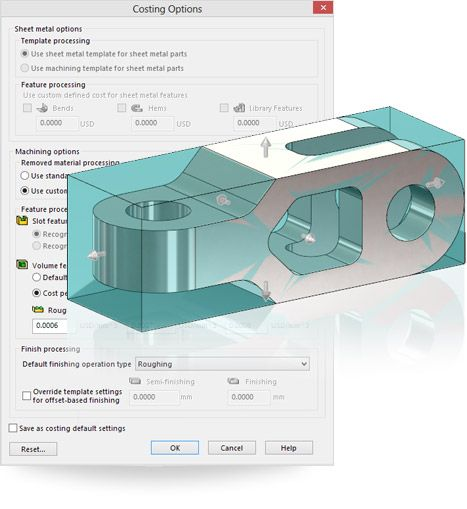 SolidWorks 2014 lets you quickly calculate machining costs ...
