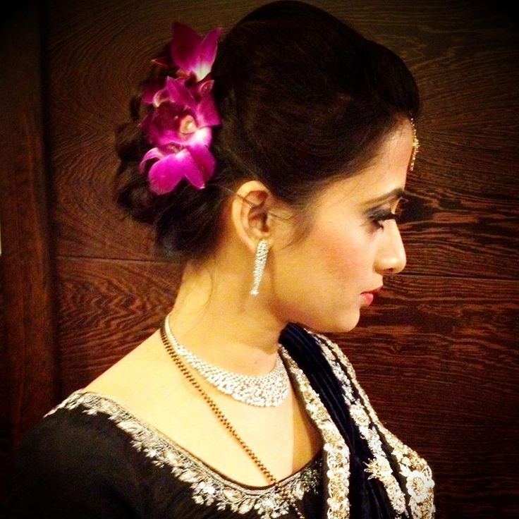 South Indian Wedding Bridal Hairstyles: South Indian Bridal Hairstyle