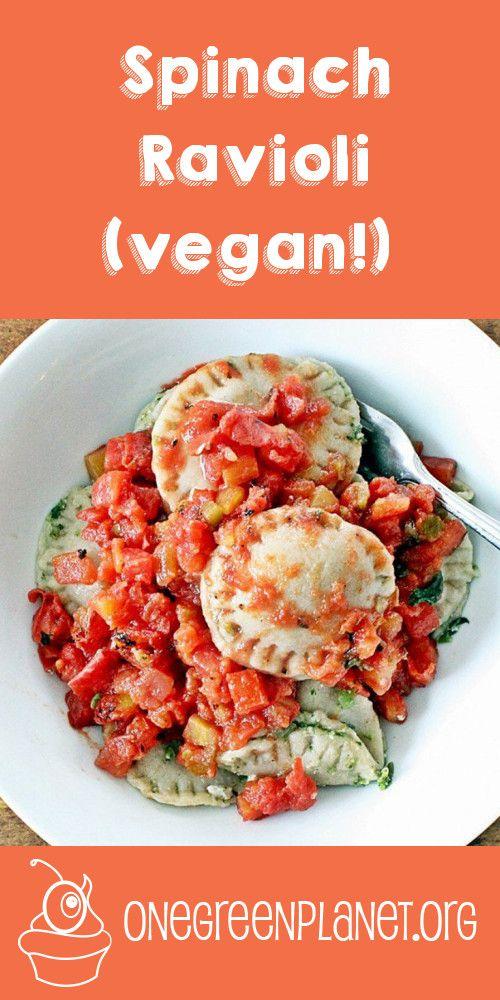 ... about Vegan Ravioli on Pinterest | Vegans, Ravioli and Vegan Calzone