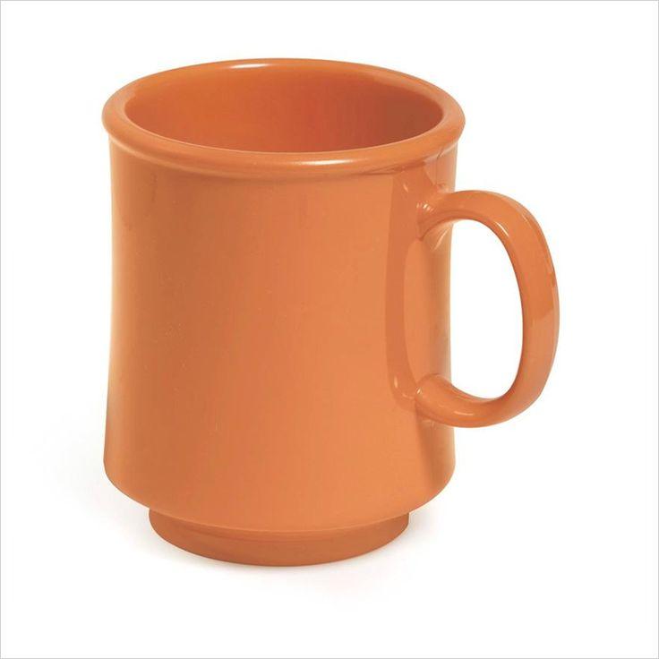 8 oz 3.25 x 3.75 Stacking Mug Pumpkin Tritan/Case of 24 Tags:  Coffee Cups; Cups and Mugs; Plastic Coffee Cups;Plastic Coffee Cups;Plastic Round Coffee Cups; https://www.ktsupply.com/products/32807345639/8-oz-325-x-375-Stacking-Mug-Pumpkin-TritanCase-of-24.html