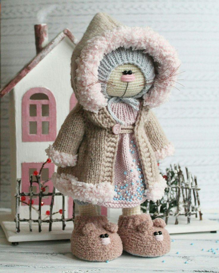 Вязаные игрушки by Isaeva Ekaterina