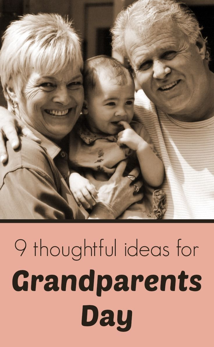 Sept. 7 is Grandparents Day 2014! Need some inspiration? Here are some sweet ideas for grandparents day gifts, crafts, and activities.
