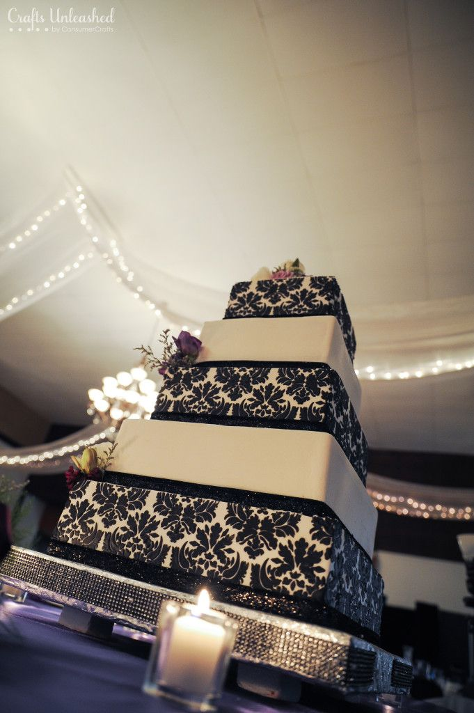 Wedding Card Box 4 Tier Fabric Covered Crafts Unleashed