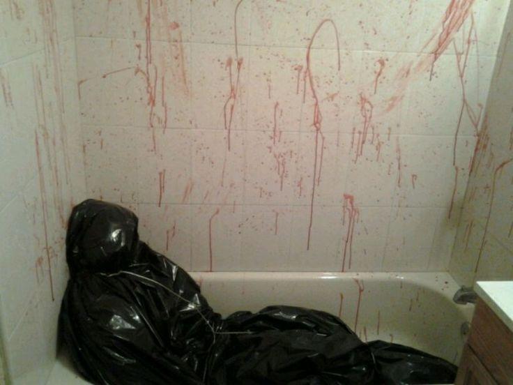 Dead Body Halloween Decorations Pinterest Bathtubs And D