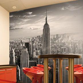 Manhattan Skyline Wallpaper Mural