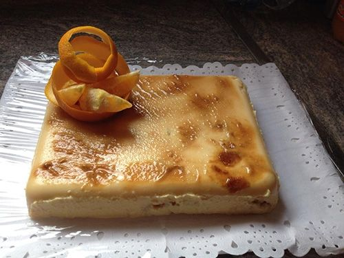 Tarta de Naranja Muy Fácil.