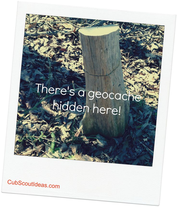 A quick guide to show Cub Scout families how to geocache!