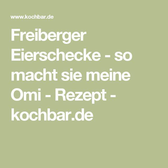 Freiberger Eierschecke - so macht sie meine Omi - Rezept - kochbar.de