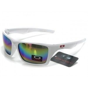 Cheap oakley Bottle Rocket Sunglasses blue-pink-yellow Iridium white frames-10426 outlet on sale