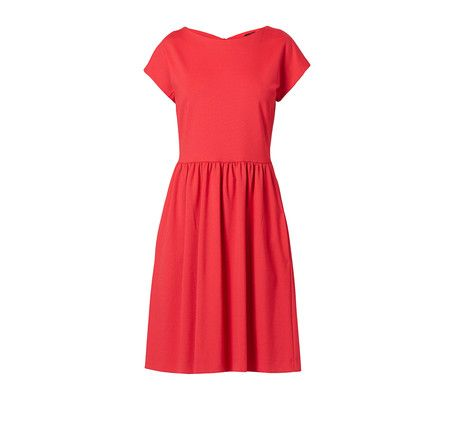 A perfect red dress to celebrate Love.