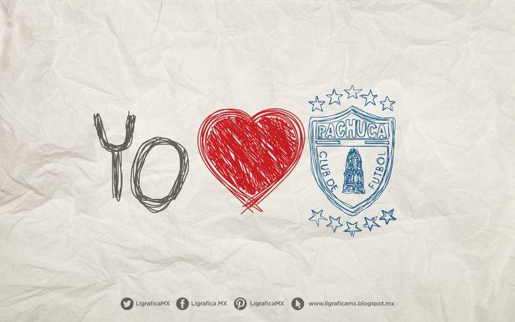 Yo Amo a @Tuzos Del Pachuca • 100214CTG(1) LigraficaMX