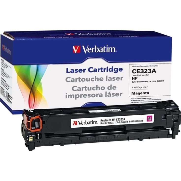 Verbatim Remanufactured Laser Toner Cartridge alternative for HP CE32, Pink #98333