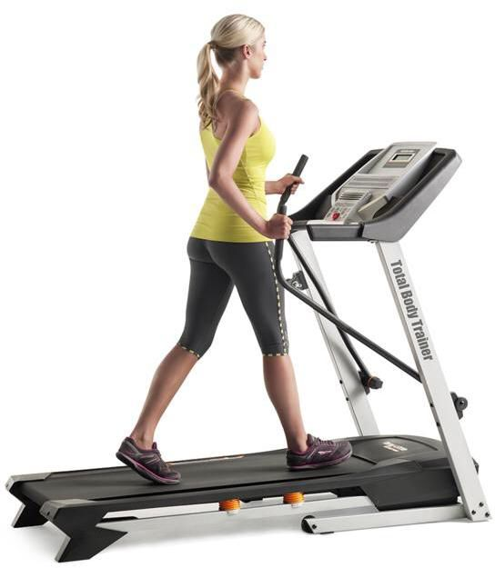 Need a total body treadmill? Tony Little Air Trac Total Body Treadmill with 2 Workout DVDs. Let your 2018 healthy lifestyle goals come true!!