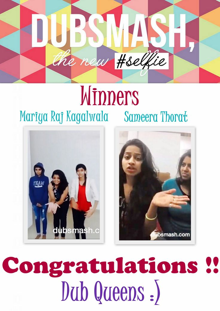 """And we have the winners for """" The Dubqueens Hunt"""" We enjoyed watching all your funny videos.. You all were rocking!! Congratulations to our dubqueens Sameera Thorat & Mariya Raj Kagalwala, you are truly deserving!! P.S: Both the winners inbox us your contact numbers as a exclusive photoshoot is on your way :)"""